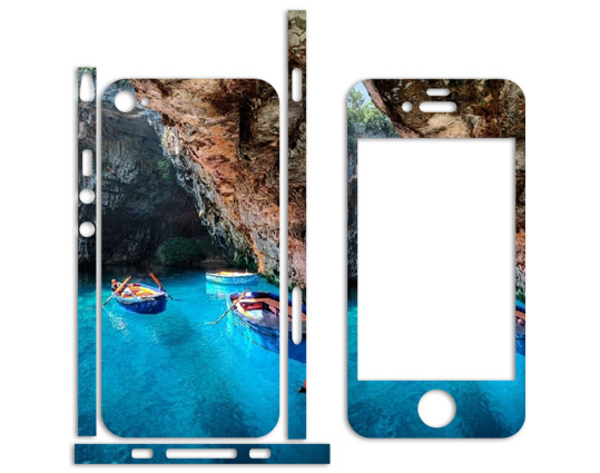 iphone 4 telefon sticlker deniz